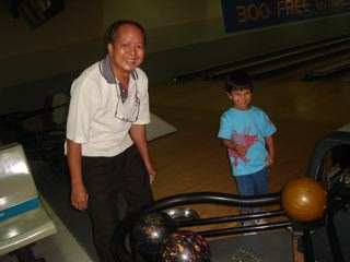 Remembering Dad: Bowling With C