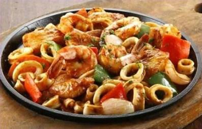 Fridays Lenten Sizzling Cajun Seafoods