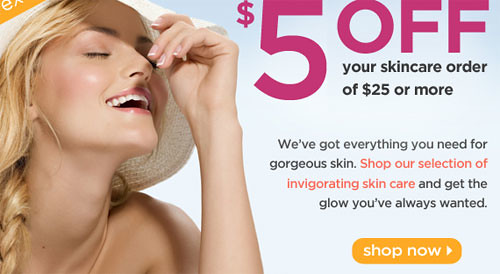 Drugstore.com coupon for Skin Care