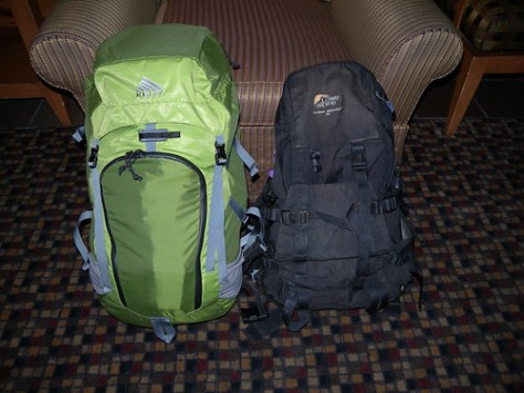 The old black pack sees off the new green one