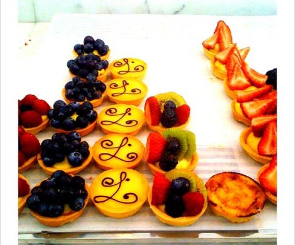 at louie - the tarts were divine!