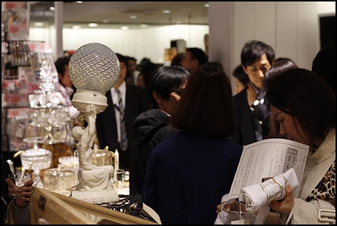 2010.04.27 Pass The Baton Omotesando Store Opening Party 10