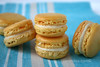 Lemon French Macarons with Limoncello White Chocolate Ganache Recipe