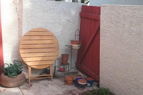 Garden, before