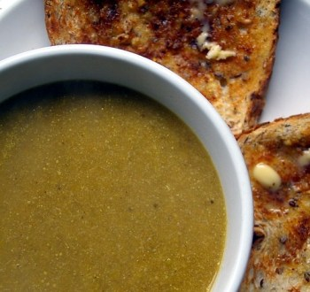 Mushroom and Asparagus Soup