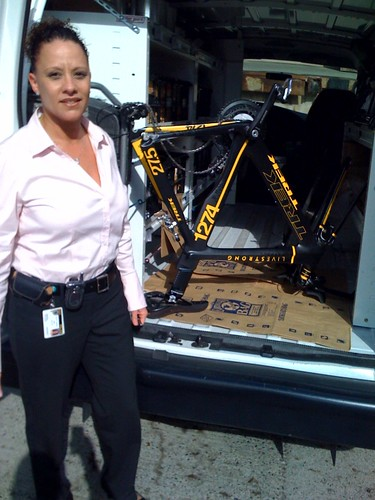 Lance Armstrong's recovered bike