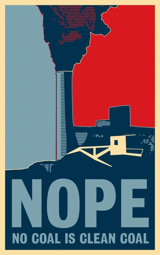 NOPE (No Coal is Clean Coal)