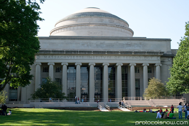 MIT Great dome building hall