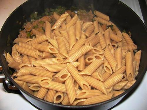 Turkey Sausage & Pasta Bake 4