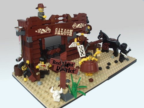 LEGO Red Light District