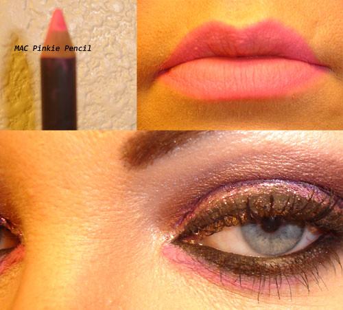 MAC Pinkie Pencil - Maybelline Lash Stylist