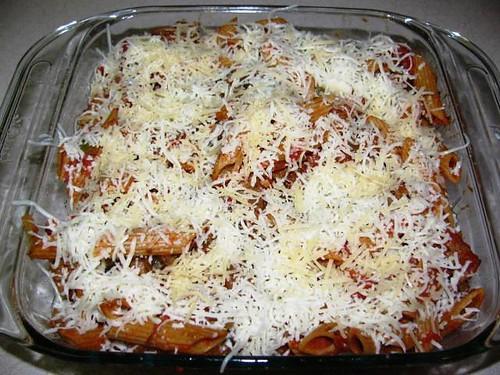 Turkey Sausage & Pasta Bake 9