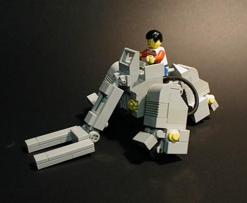 LEGO boom loader mecha