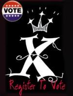 X vote logo