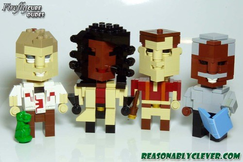 LEGO CubeDudes from Firefly