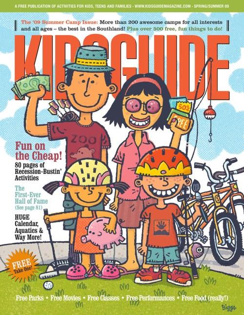 cover illustration for Kids Guide