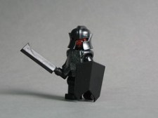 LEGO Uruk Hai minifigs