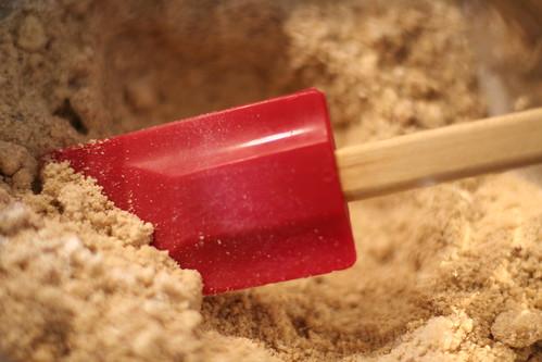 Building gluten-free banana bread