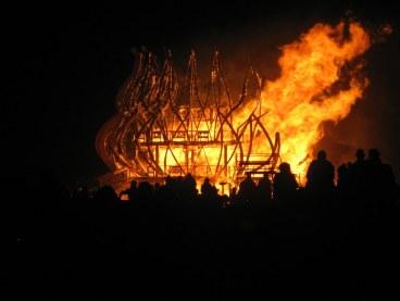 Temple Burn 2009