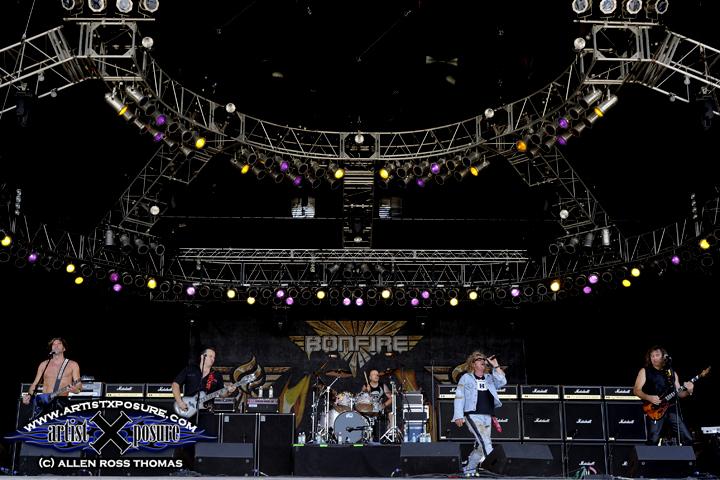 Bonfire Main Stage at Rocklahoma 2009