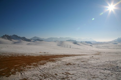 Winter Landscape, Mongolia