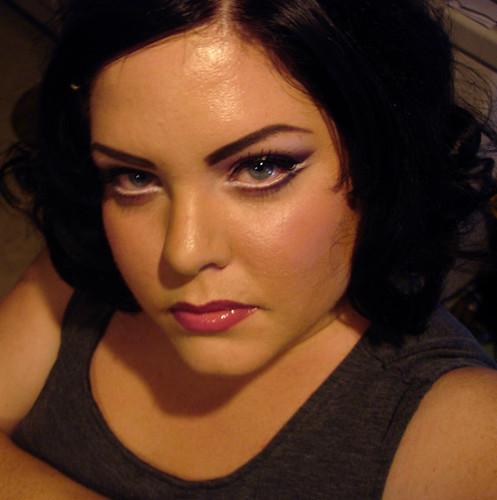 Palladio White eyeliner & MAC Cosmetics