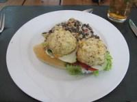 wild thyme gourmet - crab cake sandwich