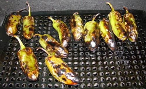 Grilled Roasted Peppers