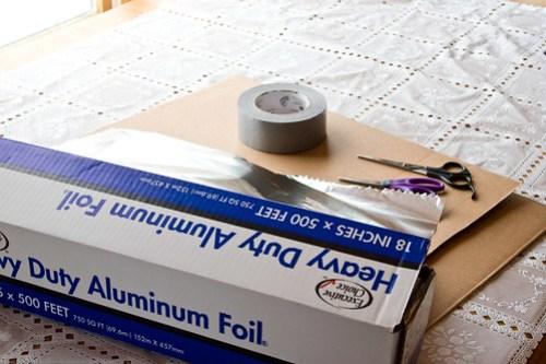 DIY Solar Oven: for reflectors