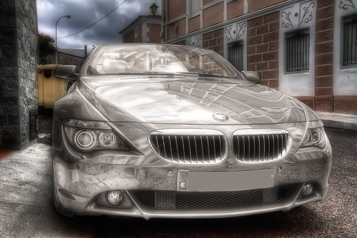BMW 650i Coupe HDR 2