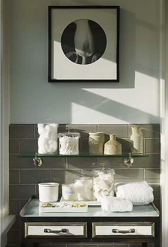bath shelf Stephen Gambrel