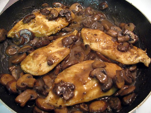 Chicken Marsala 6