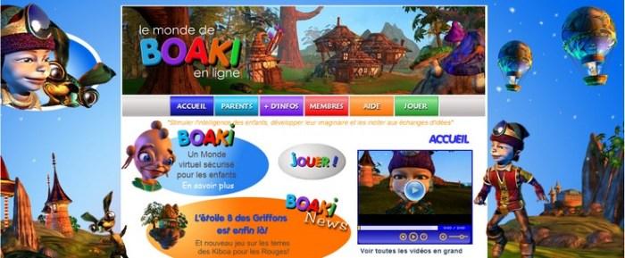 monde virtuel pour enfants monde de boaki