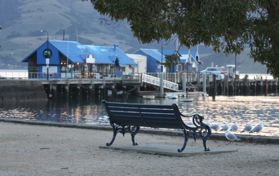 Akaroa sea promenade and pier. Photo by learnscope @ Flickr.