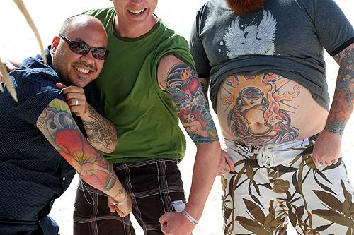 tattoed boys