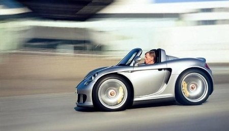 Mini Porsche Carrera GT