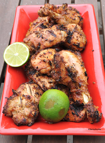 Grilled Kampung Indonesian Chicken