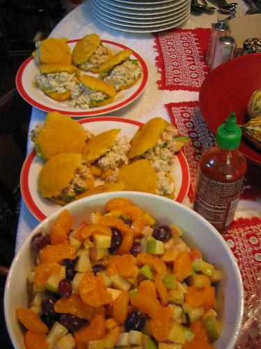 arapes, fruit salad