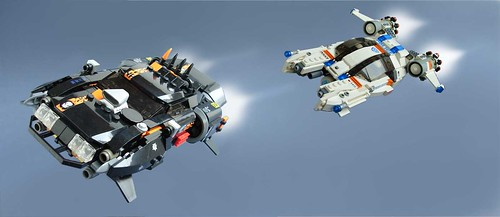 LEGO Space Police MOCs by Kaitimar