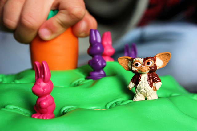 Gizmo, the rabbits and the Hand of Destiny