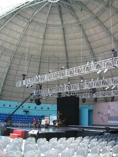 Inside the Sky Dome