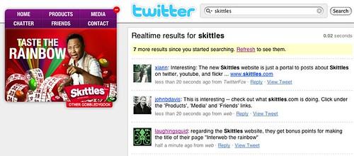 Skittles, Interweb The Rainbow