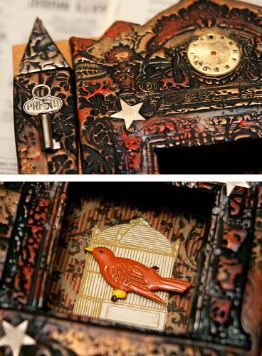 Artfest 2009 - Portable Shadowbox Shrine