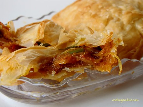 Vegetable Puffs Recipe   Puffs With Puff Pastry Sheets