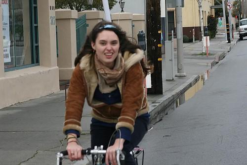Santa Cruz Bike Girl