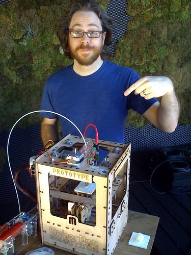 Jonathan Coulton and Makerbot