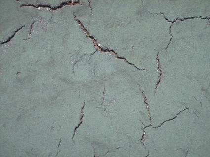 Cracks from Tennis Court - #10