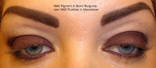MAC Pigment Burnt Burgundy