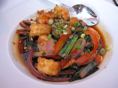 nam - claypot shrimp