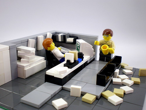 LEGO Office Space